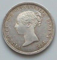 GREAT BRITAIN 4 PENCE 1849 MAUNDY TOP   GW 197