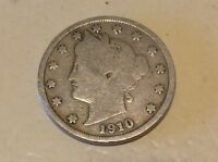 1910 US 5 CENTS