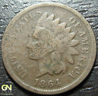 1864 L INDIAN HEAD CENT      MAKE US AN OFFER  Y4401