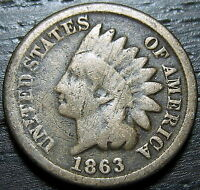 1863 INDIAN HEAD CENT      MAKE US AN OFFER  Y1709