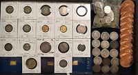 HUGE LOT GOLD & SILVER COLLECTION   PRE 1600'S PRE 1933 GOLD SEATED BUST CC
