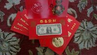 10X 2016 YEAR OF THE MONKEY LUCKY MONEY BRAND NEW 1741 1750
