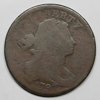 1797 S-143 R-5 DRAPED BUST LARGE CENT COIN 1C