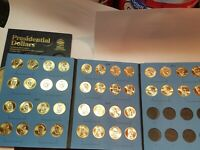 VOLUME 1 COMPLETE SET  P&D  2007 2011 PRESIDENTIAL $1 GOLDEN DOLLAR BU 40 COINS