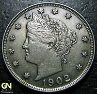 1902 LIBERTY V NICKEL  --  MAKE US AN OFFER  W3965 ZXCV