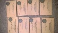 COLLECTION OF U.S LIBERTY NICKELS 1883 1899,1900,1901,1903,1904,1905,1906