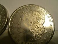 1880S MORGAN DOLLAR 1 COIN  UNCIRCULATED  BRILLIANT CONDITION  STUNNER   MS