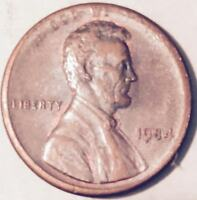 1984  TYPE 2 ERROR  LINCOLN CENT MAJOR ERROR  NICE COIN  222