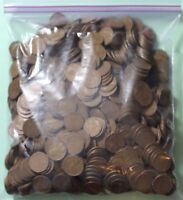 1000 WHEAT PENNIES FROM THE 1930'S BL-21