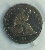 1839 SEATED LIBERTY QUARTER PCGS VF 25