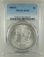 1883 S $1 MORGAN SILVER DOLLAR   PCGS AU55 81386667   BETTER DATE NICE COIN