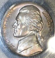1958 D PCGS MS65 FS JEFFERSON NICKEL FULL STEPS COLORFUL TONED OBV SHIPS FREE