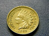 1862 INDIAN HEAD CENT NICE DETAIL