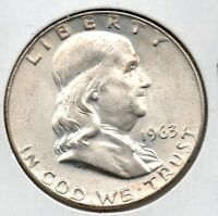 NICE 1963 D FRANKLIN HALF DOLLAR GREAT COLLECTOR COIN BUY IT NOW