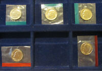LOT OF 5 MINT ROOSEVELT DIMES 1973 PD & 1976 D IN MINT CELLOS