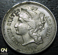 1869 3 CENT NICKEL PIECE      MAKE US AN OFFER  W3647 ZXCV