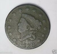 1820 LARGE CENT N 33