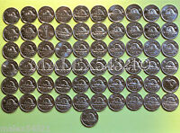 CANADIAN 5 CENTS SET 1956 TO 2016 61 COINS HIGH GRADE CIRCULATED