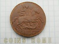 CH MODERN UNCIRCULATED 1730 RUSSIAN KOPECK REAL SIZE MEDAL/TOKEN LOT312/4620