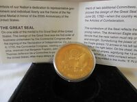 STATUE OF LIBERTY /THE GREAT SEAL BICENTENNIAL MEDAL COIN 1776 1976.. .O74/135
