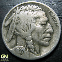 1927 S BUFFALO NICKEL  --  MAKE US AN OFFER  Y4762
