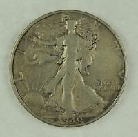 1940-S 50C WALKING LIBERTY SILVER HALF DOLLAR VF CONDITION 0SA01