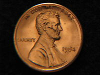 1984  LINCOLN MEMORIAL PENNY UNCIRCULATED