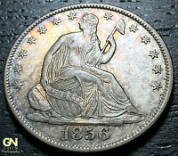 1856/56 O SEATED LIBERTY HALF DOLLAR WB103     MAKE US AN OFFER  G4218