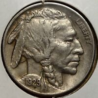 1929 S BUFFALO NICKEL ALMOST UNCIRCULATED   0816 24