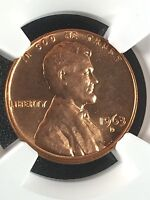 1963 D 1C RD LINCOLN MEMORIAL ONE CENT  NGC MS67RD                  4230236 001