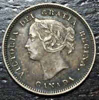 CANADA 1900 FIVE CENTS     MAKE US AN OFFER  W3466  ZXCV