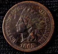 1865 INDIAN HEAD CENT - EXTRA FINE  DETAILS 16117