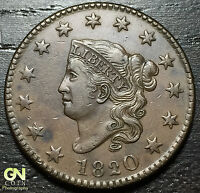 1820 CORONET HEAD LARGE CENT N11 R2        MAKE US AN OFFER  O2855