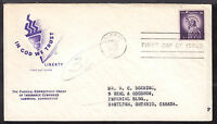 1954 ALBANY, NY., 1035E 3C ON STATUE OF LIBERTY FIRST DAY CACHET