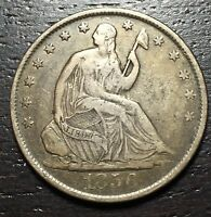 1856 O SEATED LIBERTY HALF DOLLAR      MAKE US AN OFFER  W4770 ZXCV