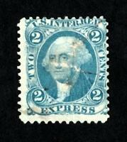 DR JIM STAMPS OLD US REVENUE SCOTT R9 2C EXPRESS USED NO RESERVE FREE SHIPPING