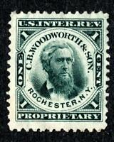 DR JIM STAMPS OLD US BOB PRIVATE DIE SCOTT RT20D 1C C B WOODWORTH & SON
