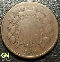 1870 2 CENT PIECE  --  MAKE US AN OFFER  O2064
