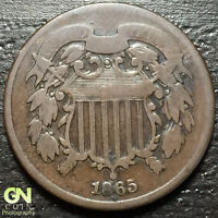 1865 2 CENT PIECE      MAKE US AN OFFER  O2050
