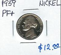 1959 GEM PROOF  JEFFERSON  NICKEL