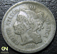 1868 3 CENT NICKEL PIECE      MAKE US AN OFFER  Y5208