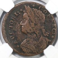 1787 33.23 HH.2 R 6 NGC VF DETAILS CONNECTICUT COLONIAL COPPER COIN