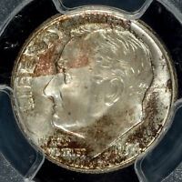 1954 D SILVER ROOSEVELT DIME PCGS MS65   OLDER HOLDER