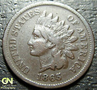 1865 INDIAN HEAD CENT  --  MAKE US AN OFFER  O1727