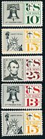 DR JIM STAMPS OLD US LOT OF 5 AIR MAIL UNUSED OG HINGED NO RESERVE FREE SHIPPING