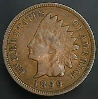 1899 INDIAN HEAD CENT NICE VINTAGE PENNY GC065