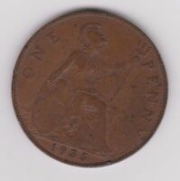 1935 GEORGE V BRITISH PENNY COIN