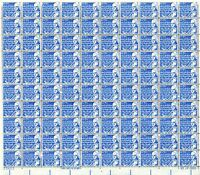 1393D - 7 BENJAMIN FRANKLIN ISSUE, MNH SHEET OF 100 FV $7.00