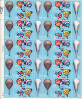 2032-5 - 20 BALLOONS ISSUE - MNH SHEET OF 40 FV $8.00