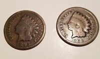 1864/1895 INDIAN HEAD ONE CENT PENNY